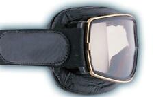 Aviator Retro Pilot T3 Slim Fit Motorcycle Goggles - Gold