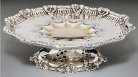 Tiffany & Co. Silver Dessert Compote 6687 Makers 7693, Sterling Silver 1881-1891