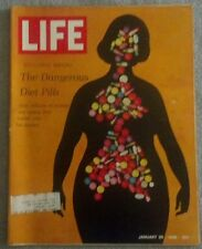 Life Magazine The Dangerous Diet Pills Janurary 26, 1968