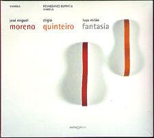 Luys MILAN Vihuela Guitar Fantasia MORENO Milán GLOSSA Eligio Quinteiro CD NEU