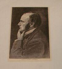 1879 magazine engraving ~ CARLILE POLLOCK PATTERSON