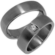 2 Verlobungsringe Partnerringe Freundschaftsringe Hochzeitsringe & Gravur