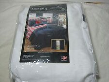 New  Kimlor Mills Karin Maki Home American Denim Twin Bedskisrt - NIP