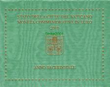 2 EURO COMMEMORATIVO VATICANO 2010 FDC UFFICIALE