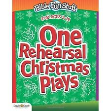 One Rehearsal Christmas Plays: Preschool through Middle - Paperback NEW Smiley,