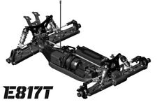 Hot Bodies Racing E817T 1/8 Competition Electric Truggy - HBS204239
