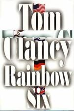 Rainbow Six hardcover Signed by Tom Clancy 1st/1st Clear signature NEW