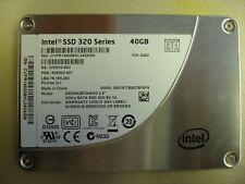 """Intel 320 Series SSDSA2BT040G3 2.5"""" 40GB SATA 3.0Gb/s SSD Hard Drive Pull"""