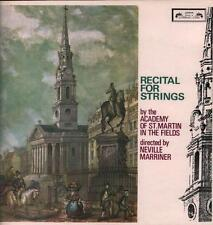 der academy of st martin in the fields (vinyl lp) recital for strings-l 'o-vg/ex