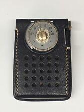 VINTAGE 50's RCA VICTOR TRANSISTOR POCKET RADIO MODEL 3 RH21G w/ ORIGINAL CASE