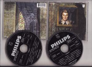 2CD -ALBUM-JOHNNY HALLYDAY-HAMLET-PHILIPS-546945-FRENCH