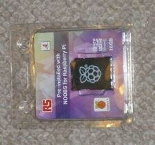 Raspberry Pi 16GB Micro SD Card Pre-installed With NOOBS PC SEALED NEW 121-3897