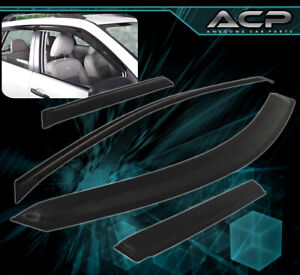 For 04-15 Nissan Armada Infiniti Qx56 Suv Window Visor Shade Vent Rain Deflector