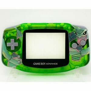 Pokemon Rayquaza GBA complete handheld housing shell Game boy backlit ips lcd