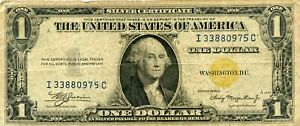 1935-A NORTH AFRICA $1 SILVER CERTIFICATE NOTE!!..STARTS @ 2.99