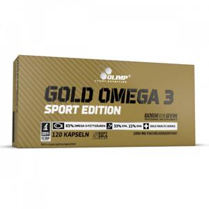 Olimp Gold Omega 3 Sport Edition 120 Kapseln Fischölkonzentrat EPA DHA