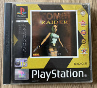 Tomb Raider (PAL) Sony Playstation 1 (PS1) Complete With Manual Black Label