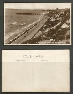 GB Postcard, Bournemouth, The East Cliff From The Zig Zag Walk Unused