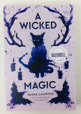 A Wicked Magic by Sasha Laurens Advance Readers Copy ARC Proof NEW