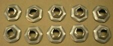 "10733 Speed Nuts 5/16"" stud x 1/2"" Hex  10 Pieces"