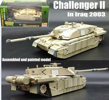 British MBT Challenger II heavy armor Iraq 2003 tank 1:72 no diecast Easy Model