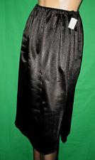 SEXY GLANZ 50/60er VINTAGE Perlon/Nylon HALB-Unterkleid-Unterrock Gr.42 *NEU(627