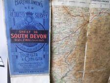 United Kingdom Devon Antique Original Antique European Maps & Atlases