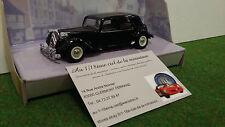 CITROËN 15 CV 1952 TRACTION nre 1/43 DINKY DY-22 voiture miniature de collection