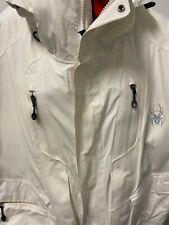 White Gore-Tex Spider Ski Jacket XL,$395.00