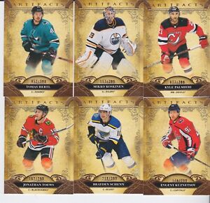 "2020/21 UPPER DECK ARTIFACTS  ""COPPER""  TOMAS HERTL #36  /299"