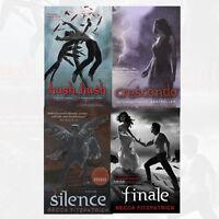 Becca Fitzpatrick 4 Books Collection Set New Finale, Silence,Crescendo Hush,Hush