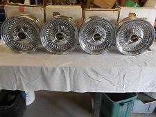 """13 X 7""""     LUXOR  WIRE  WHEELS RIMS , NOS, 28-3741"""