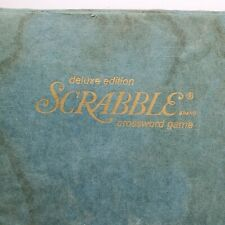 Scrabble Game Turntable Sechow & Righter Vintage 1977 Deluxe Edition Complete