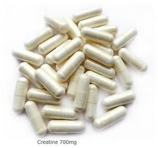 Créatine  200 gélules dosées à 700 mg u