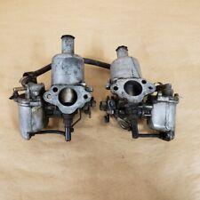 Austin Healey Sprite MG Midget 1964-68 Original SU Carburetor Set AUD136 OEM
