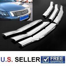 For Honda Accord Sedan 2008 2009 2010 Chrome Front Center Grille Insert Covers