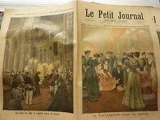 PETIT JOURNAL- 1894 - N°167 la vaccination / église russe PARIS