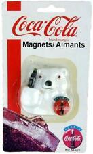 Rare Collectible New Coca-Cola Magnet 1995 Polar Bear Coke Bottle 51482