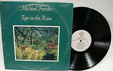 MICHAEL FRANKS-TIGER IN THE RAIN -WARNER BSK 3294  VG+ Graded VINYL LP