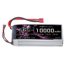 HRB 14.8V 10000mAh 4S LiPo Battery 25C-50C Deans T for RC Airplane DJI Drone Car