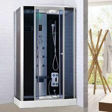 Box doccia Idromassaggio 120X80 cabina bluetooth cromoterapia ozonoterapia  001 