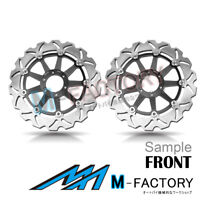 Floating Front Brake Disc x2 Fit Yamaha XJR 1200 95-98 95 96 97 98
