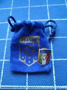 Official enamel pin badge FIGC ITALY Italia football federation association