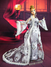 Eaki Silver Coat Outfit Gown Chinese Dress Silkstone Barbie Fashion Royalty FR