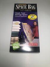 "Original Space Bag Vacuum-Seal Storage Jumbo Size 35.5"" x 48.5"" New"
