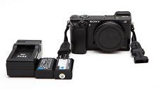 Sony Alpha A6000 24.3MP Digital Camera - Black (Body Only) ** READ NOTES