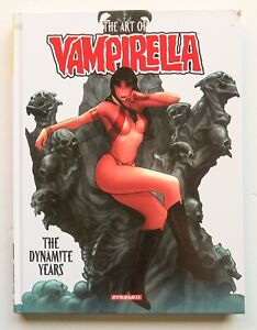 The Art of Vampirella The Dynamite Years HC **S&D** Graphic Novel Comic Book