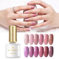 BORN PRETTY 6ml  Tips Gel Polish Pink Soak Off Nail Art UV Gel s