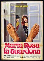 Manifesto Maria Pink The Voyeur Isabella Bailey Ninetto Davoli M66