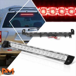 For 01-04 Pathfinder/Infiniti QX4 Full LED 3RD Tail Brake Light Stop Lamp Chrome